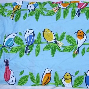 The Company Store 4 Pc Twin Sheet Set Songbirds